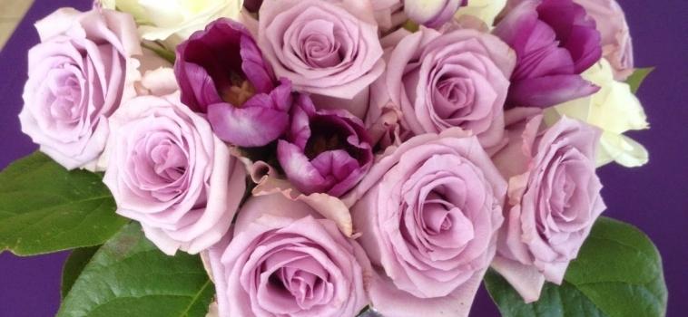 Soft and Romantic Purple