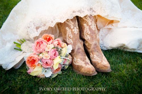 Large beautiful bridal bouquet