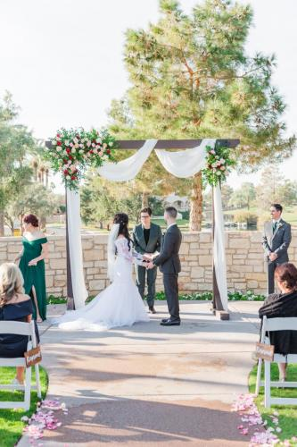 Cassidy and Thomas Married-301